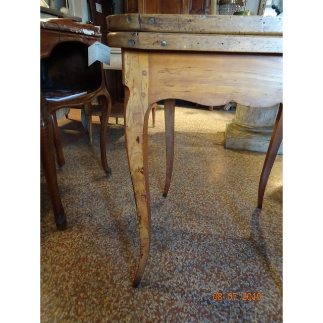 Wood 18th Century French Game Table For Sale - Image 7 of 9