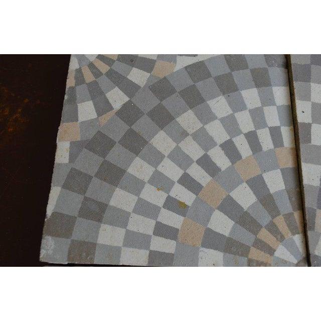 Antique Belgian Ceramic Tiles - Set of 4 - Image 9 of 11