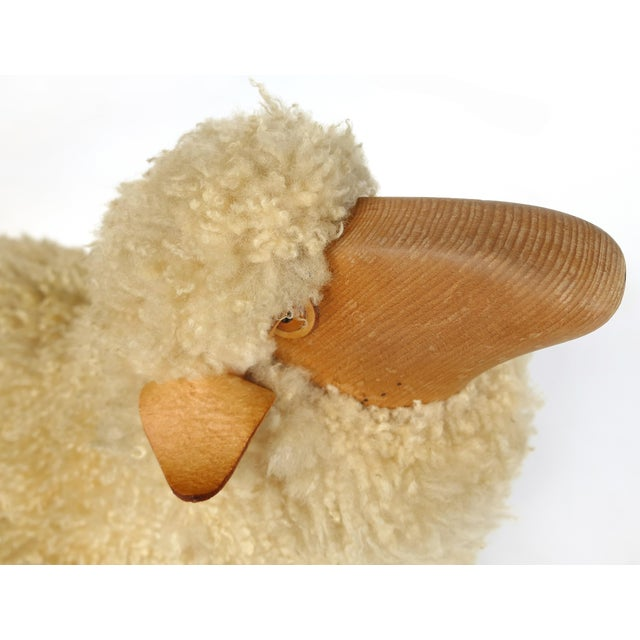 Lifesize Sheep & Lamb Sculptures by Hanns-Peter Krafft- Set of 2 For Sale In Miami - Image 6 of 10