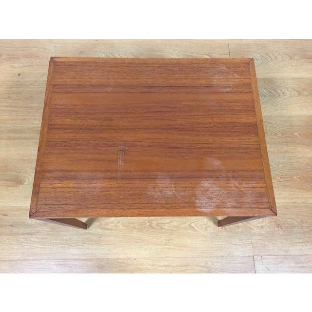 Silberg Mid-Century Danish Teak Side Table - Image 5 of 8