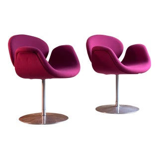 Tulip Chairs by Pierre Paulin by Artifort Netherlands, circa 2000 - A Pair For Sale