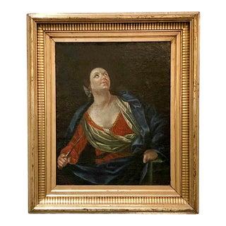 Baroque Portrait of Lucretia Painting For Sale