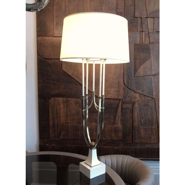 1950s parzinger style table lamp chairish