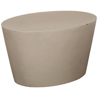 Maya Lin 1st-Generation Concrete Stool for Knoll Studio, Signed and Stamped 1998 For Sale