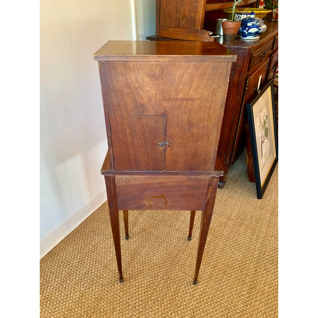 French Wood Phone Cabinet For Sale - Image 4 of 11