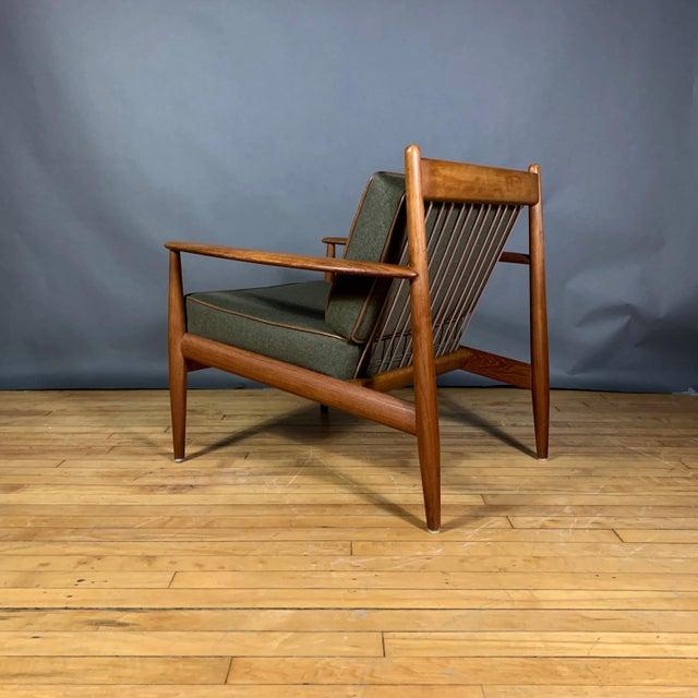 1950s Grete Jalk Armchair, France & Deverkosen, Denmark For Sale In New York - Image 6 of 12