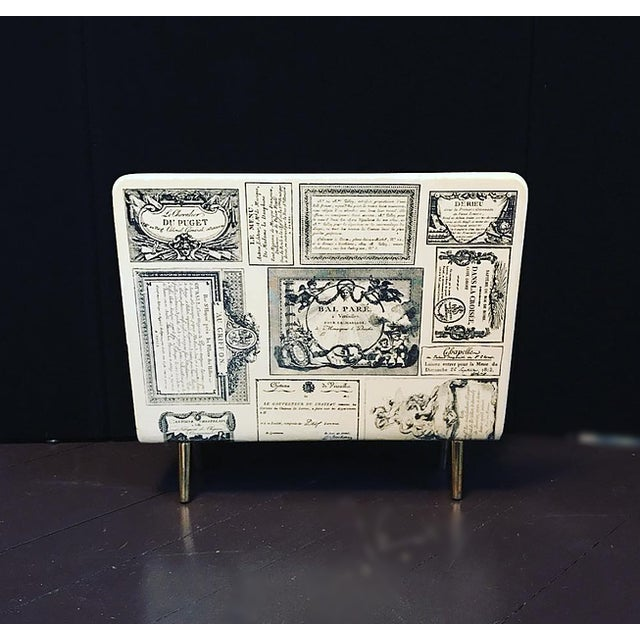 Italian Early Fornasetti Magazine Holder For Sale - Image 3 of 3