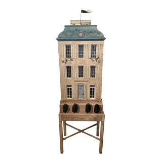 1980s Eric Lansdown French Chateau Dollhouse/Cabinet For Sale