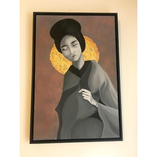 Geisha Painting - Image 3 of 3