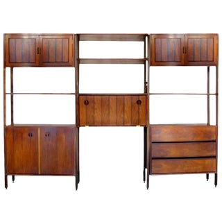 Rare Stanley Wall Unit or Room Divider For Sale
