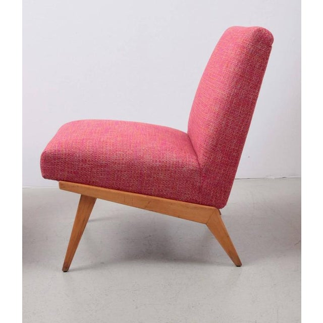 1940s Pair of Jens Risom 21 Chair 1940s USA for Knoll Associates For Sale - Image 5 of 7