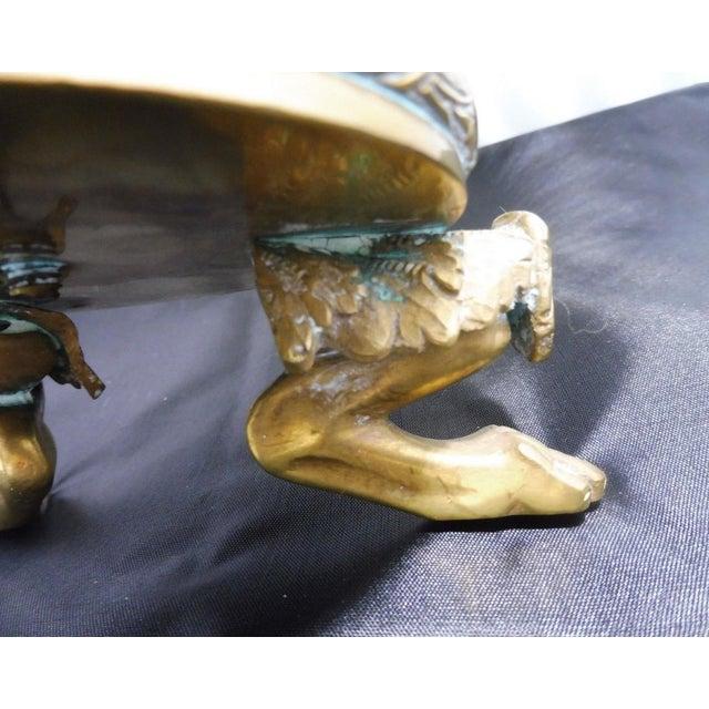 20th Century Neoclassical Bronze Tazza For Sale In Miami - Image 6 of 10