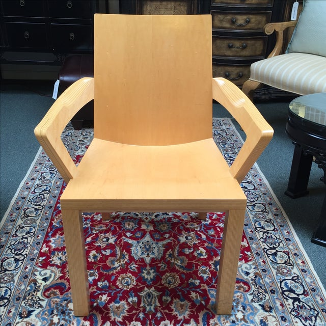 Dakota Jackson Library Arm Chair - Image 2 of 10