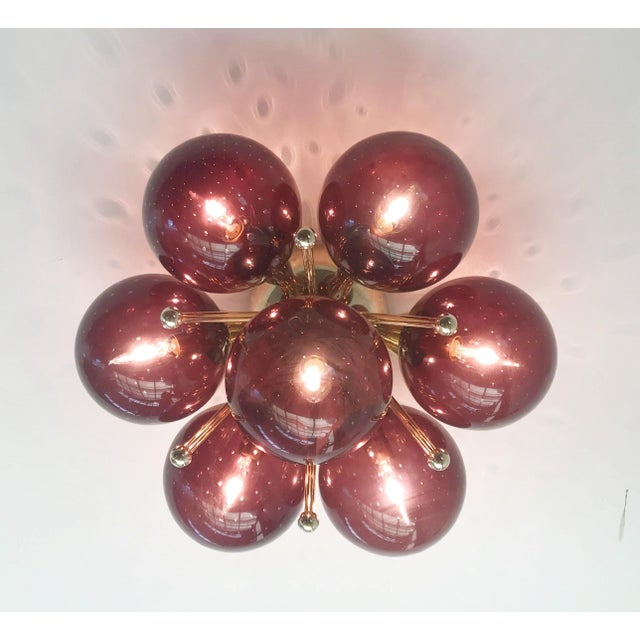 Sakura Flush Mount / Sconce by Fabio Ltd For Sale In Palm Springs - Image 6 of 9