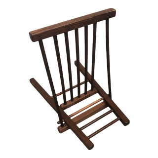 Scandinavian Style Wooden Display Rack** For Sale