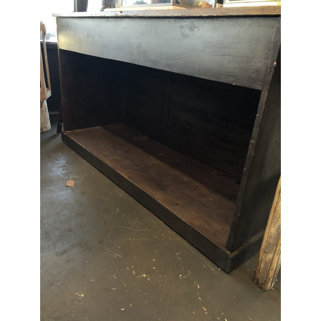 Late 19th Century Antique French Storage Counter For Sale - Image 5 of 6