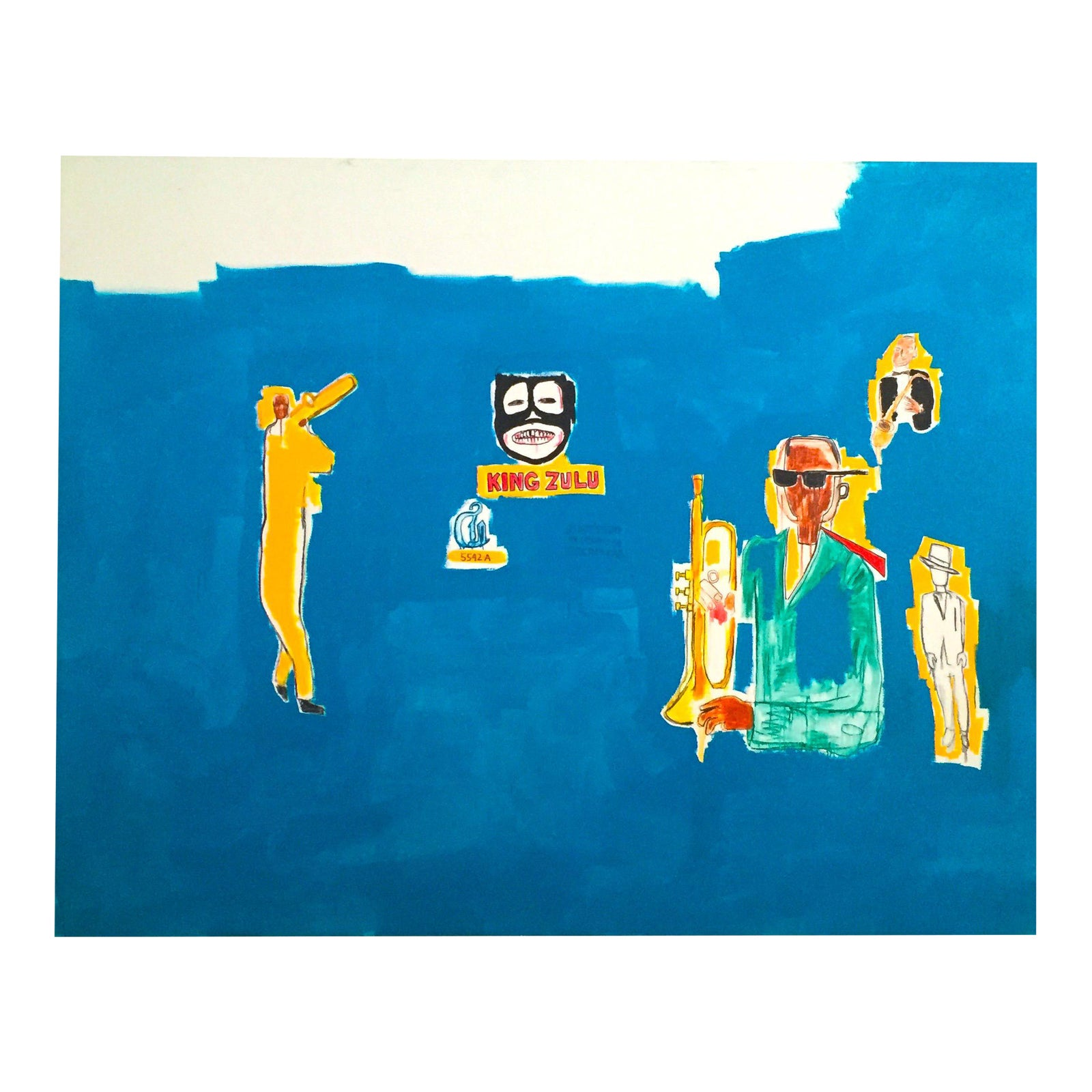 Jean Michel Basquiat Estate Pop Art Original Fine Art