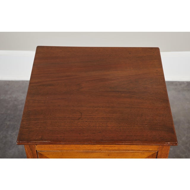 Pair of English George III Walnut Side Tables - Image 5 of 9