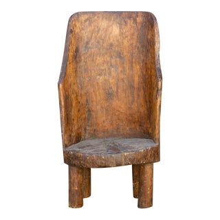 19th Century Lumani Naga Tribal Chair For Sale