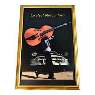 """Lo Real Maravilloso"" Framed Cuban Poster"
