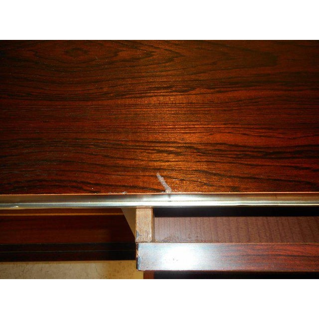 Metal Royal Board of Sweden Mid-Century Rosewood Credenza For Sale - Image 7 of 11