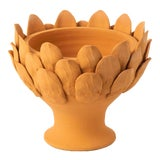 Image of Terracotta Artichoke Footed Centerpiece, Small For Sale