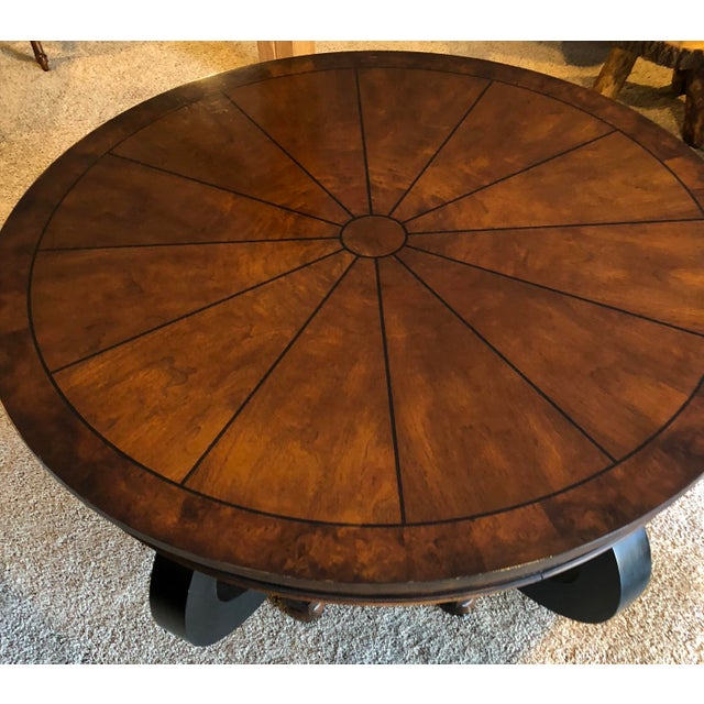 Henredon Henredon Dining Table For Sale - Image 4 of 5