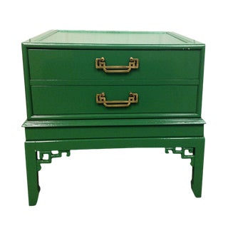 Emerald Green Nighstand