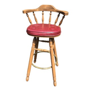 1970s Vintage Bar Stool For Sale
