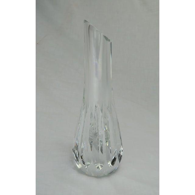 Transitional Baccarat Crystal Bud Vase For Sale - Image 3 of 9