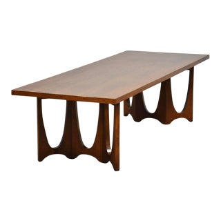 Broyhill Brasilia Walnut Coffee Table For Sale
