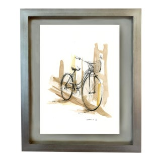 """Rick Sargent """"Bike 01"""" Contemporary Painting For Sale"""