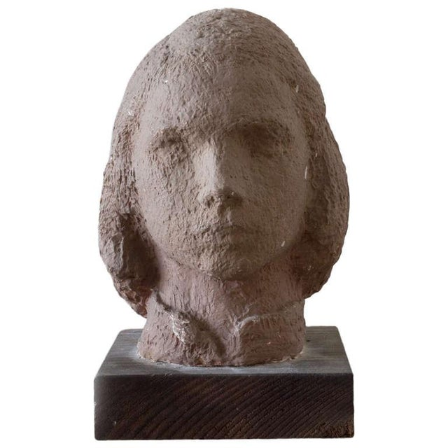 Gaetano Cecere Plaster Sculpture Wood Base #37 For Sale In New York - Image 6 of 6