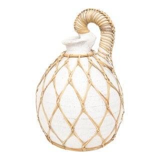 Large Woven Terracotta Water Jug/Jar Vase For Sale