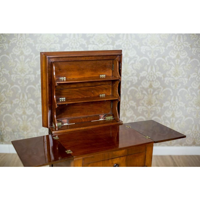 Dresser/Desk/Dressing Table Veneered with Mahogany, circa 1860 For Sale - Image 4 of 13