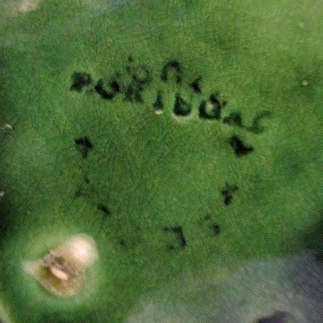 1960s Vintage Cabbage Leaf Bowls From Portugal - Set of 4 For Sale - Image 5 of 6