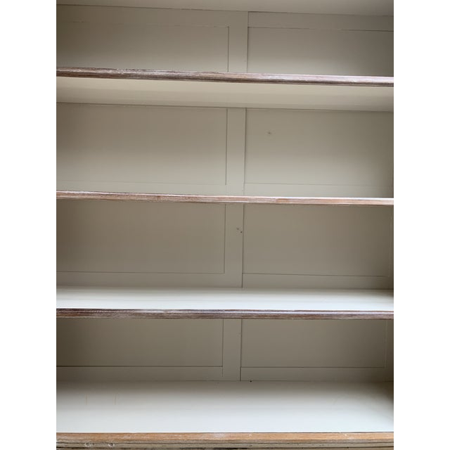 Gray Antique French Display Cabinet For Sale - Image 8 of 13