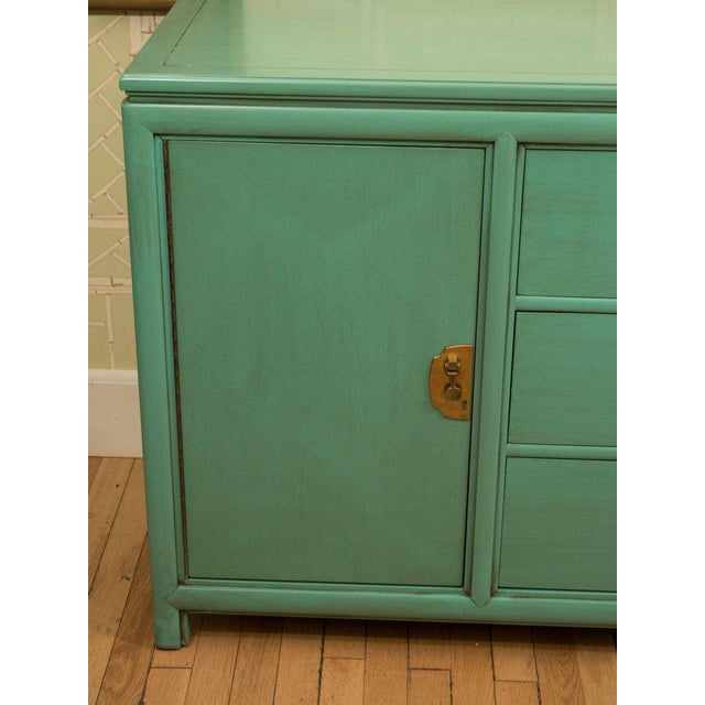 Thomasville Turquoise Chest - Image 7 of 11