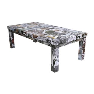 Photo Collage Coffee Table