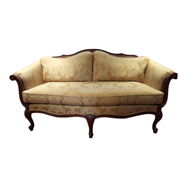 Ethan Allen Evette Settee - Image 1 of 7