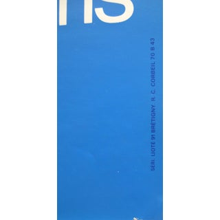 1981 Original French Aviation Poster, Aéronautique Espace (Le Bourget), 34e Salon International De Paris Preview