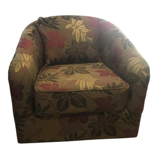 Upholstered Swivel Accent Chair