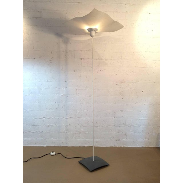 "A rare floor lamp from 1974. This lamp is called the ""Area"" floor lamp and is designed by Mario Bellini, made for..."