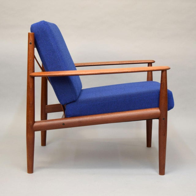 Grete Jalk for France & Son Lounge Chairs - A Pair For Sale - Image 5 of 11