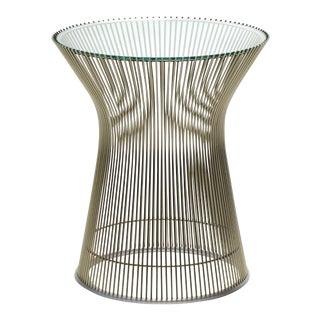 Warren Platner Side Table by Knoll