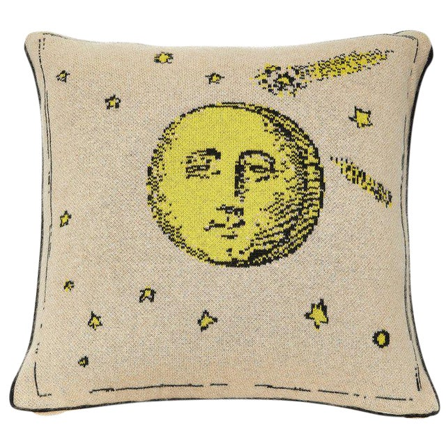 Moon Cashmere Pillow For Sale