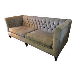 Bernhardt Interiors Beckett Tufted Sofa For Sale