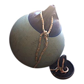Vintage Boat Buoy With Anchor - Image 1 of 4