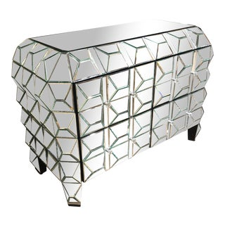 Hollywood Glam Mirrored Chest