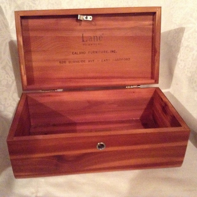 Lane Cedar Wood Box - Image 3 of 3